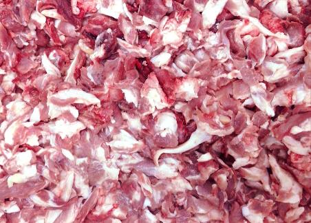 мясо зачистки